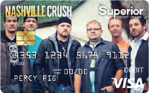 Nashville Crush Debit Card